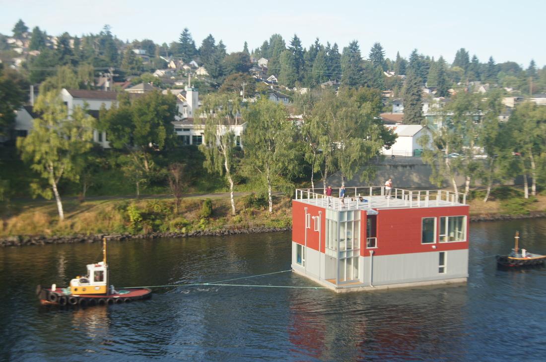Floating Home 4 Lake Union David Olson Architect